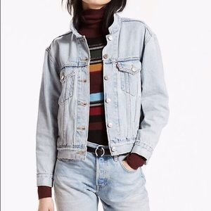 "Levi's denim jacket in the color ""People Power"""